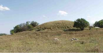 GPR - The Maikop culture burial mound