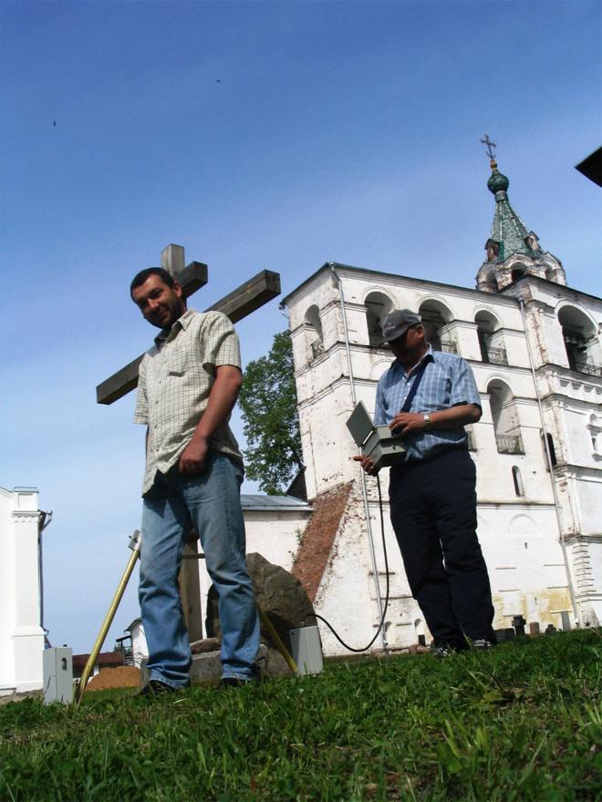 Ипатьевский монастырь, Кострома.  Копейкин В., Воровский П. (06.2006 г. Вернуться к началу.